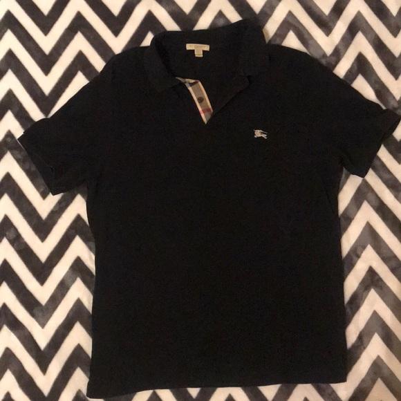 794e5f70 Burberry Shirts | Slim Fit Polo Size Large | Poshmark